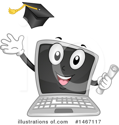 Graduation Clipart #1467117 by BNP Design Studio