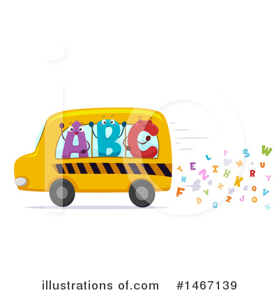 Bus Clipart #1467139 by BNP Design Studio