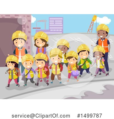 Construction Worker Clipart #1499787 by BNP Design Studio