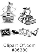 Royalty-Free (RF) Education Clipart Illustration #36380