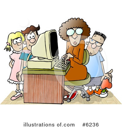 Royalty-Free (RF) Education Clipart Illustration by djart - Stock Sample #6236