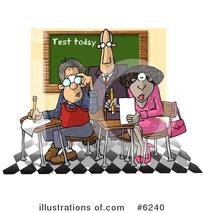 Royalty-Free (RF) Education Clipart Illustration by Dennis Cox - Stock Sample #6240
