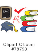 Royalty-Free (RF) Education Clipart Illustration #78793