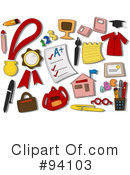 Royalty-Free (RF) Education Clipart Illustration #94103