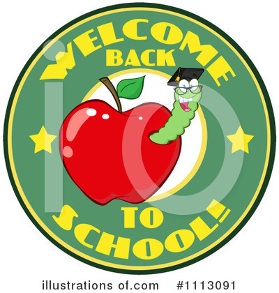 Worm Clipart #1113091 by Hit Toon