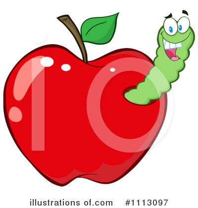 Worm Clipart #1113097 by Hit Toon