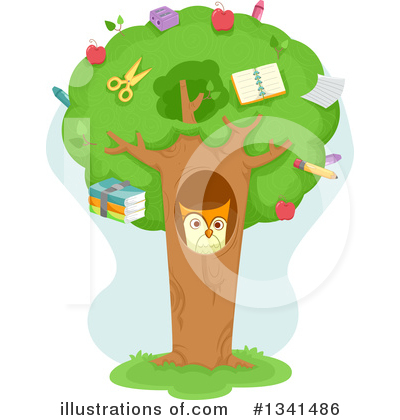 Owl Clipart #1341486 by BNP Design Studio