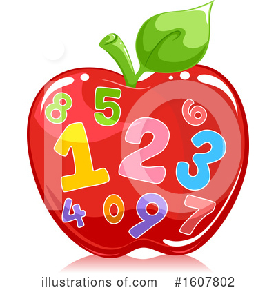 Number Clipart #1607802 by BNP Design Studio