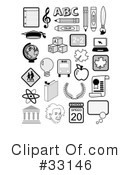 Royalty-Free (RF) Educational Clipart Illustration #33146