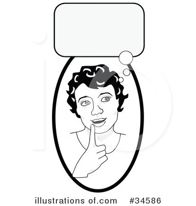 Girl Clipart #34586 by C Charley-Franzwa