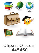 Royalty-Free (RF) Educational Clipart Illustration #45450