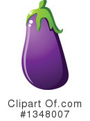 Eggplant Clipart #1348007 by Vector Tradition SM