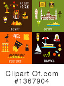Royalty-Free (RF) Egypt Clipart Illustration #1367904