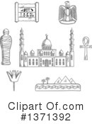 Egypt Clipart #1371392 by Vector Tradition SM