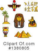 Egypt Clipart #1380805 by Vector Tradition SM
