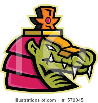 Alligator Clipart #1570045 by patrimonio