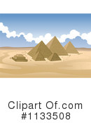 Egyptian Pyramids Clipart #1133508