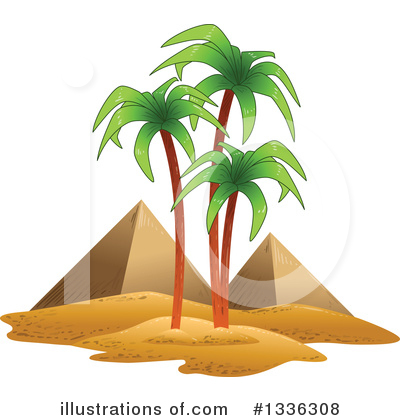 Pyramids Clipart #1336308 by Liron Peer