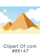 Egyptian Pyramids Clipart #86147