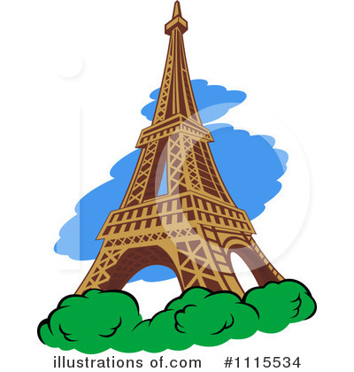 France Clipart #1115534 by Vector Tradition SM