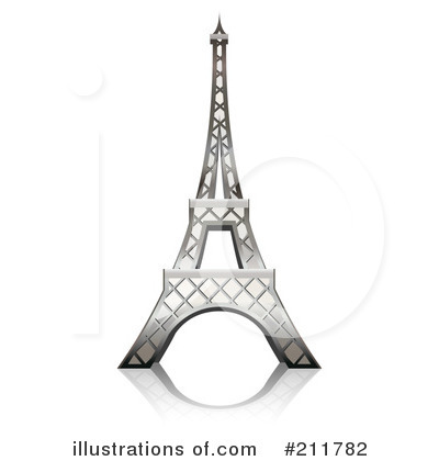 Paris Clipart #211782 by Oligo