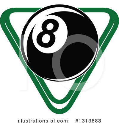 Billiards Clipart #1313883 by Vector Tradition SM