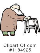 Elderly Man Clipart #1184925 by lineartestpilot