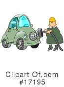 Electrical Car Clipart #17195 by djart