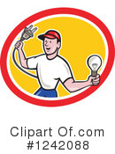 Electrician Clipart #1242088