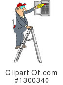 Electrician Clipart #1300340 by djart