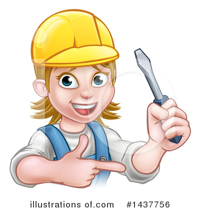Electrician Clipart #1437756 by AtStockIllustration