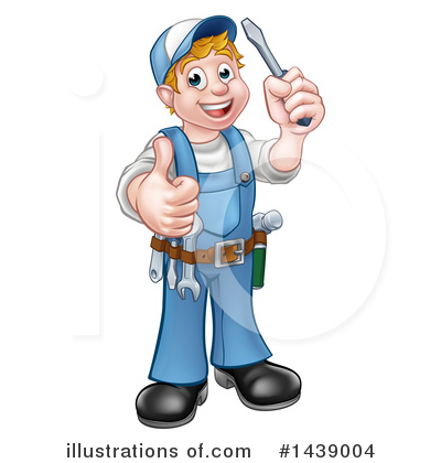 Electrician Clipart #1439004 by AtStockIllustration