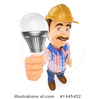 Royalty-Free (RF) Electrician Clipart Illustration by Texelart - Stock Sample #1445452