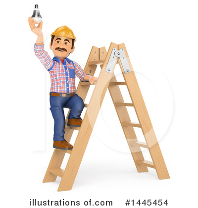 Royalty-Free (RF) Electrician Clipart Illustration by Texelart - Stock Sample #1445454