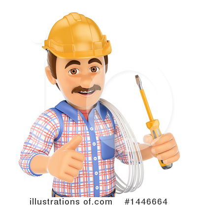 Worker Clipart #1446664 by Texelart