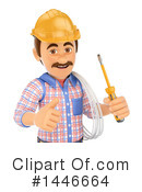 Royalty-Free (RF) Electrician Clipart Illustration #1446664