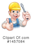Electrician Clipart #1457084 by AtStockIllustration
