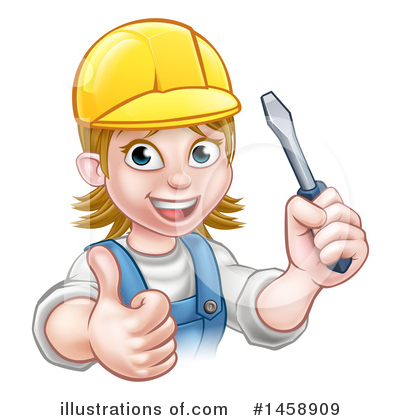 Electrician Clipart #1458909 by AtStockIllustration
