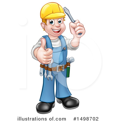 Electrician Clipart #1498702 by AtStockIllustration