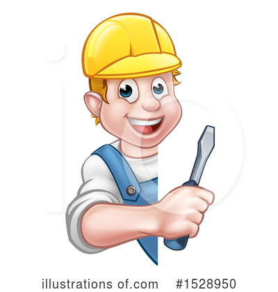 Electrician Clipart #1528950 by AtStockIllustration