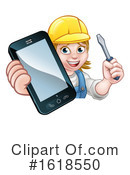 Electrician Clipart #1618550 by AtStockIllustration