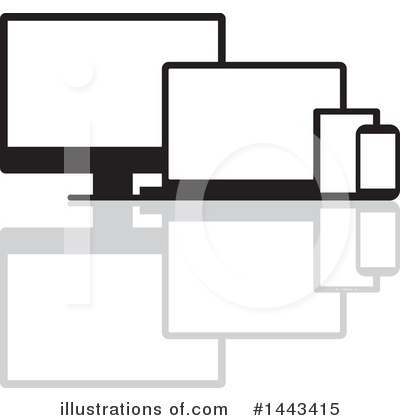 Computers Clipart #1443415 by ColorMagic