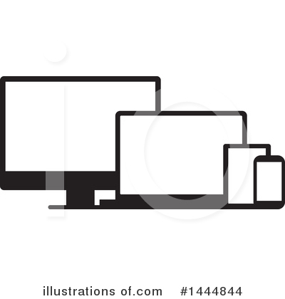Electronics Clipart #1444844 by ColorMagic