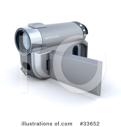 Camcorder Clipart #33652 by KJ Pargeter