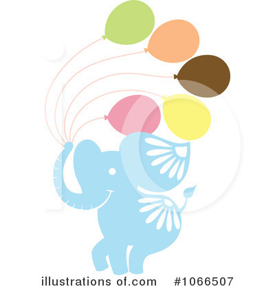 Balloon Clipart #1066507 by Cherie Reve