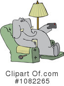 Elephant Clipart #1082265 by djart