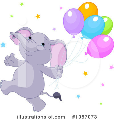 Elephant Clipart #1087073 by Pushkin