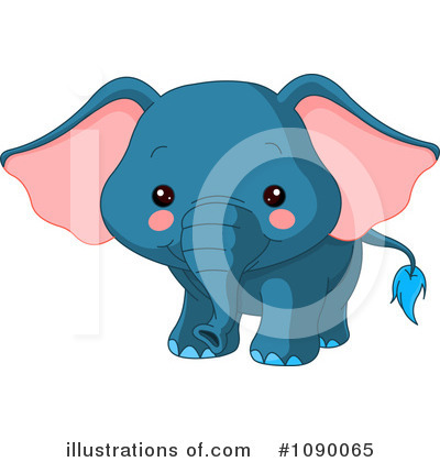 Elephant Clipart #1090065 by Pushkin