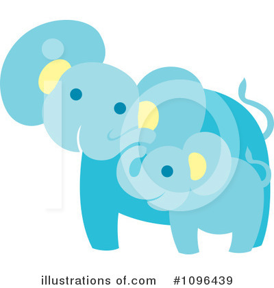 Elephant Clipart #1096439 by Cherie Reve