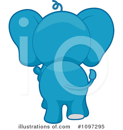 Elephant Clipart #1097295 by BNP Design Studio